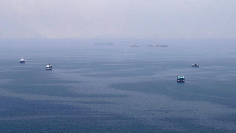 Британский танкер Stena Impero направляется к берегам Ирана