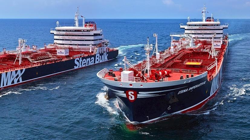 В Иране заявили о задержании британского танкера в Ормузском проливе