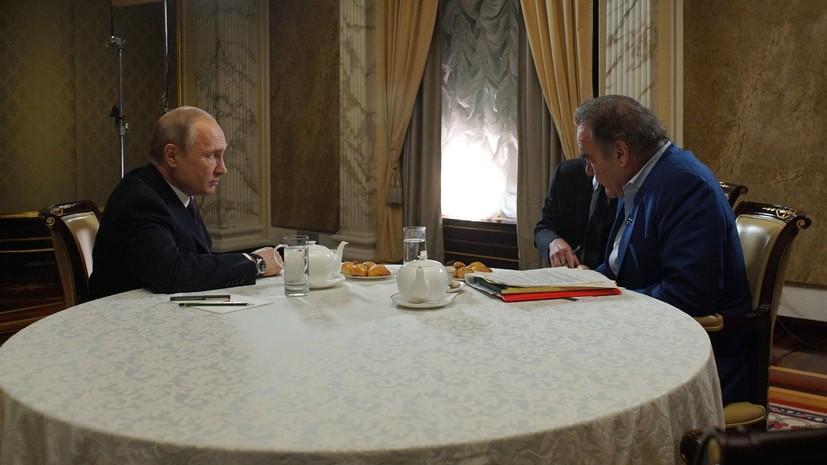 Путин оценил ситуацию на Украине после президентских выборов