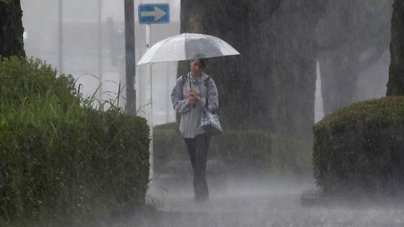 В Нагасаки объявили наивысший уровень угрозы в связи с ливнями
