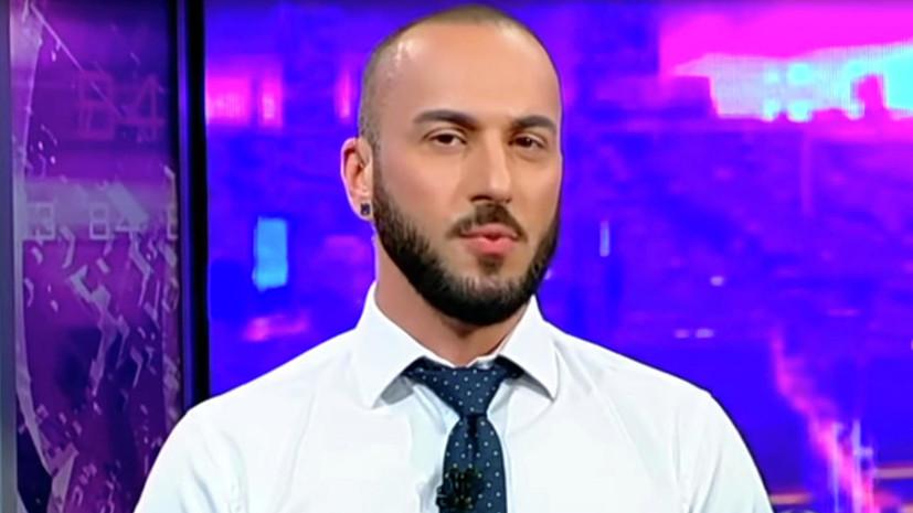 СМИ: Оскорбивший Путина грузинский ведущий сохранит работу