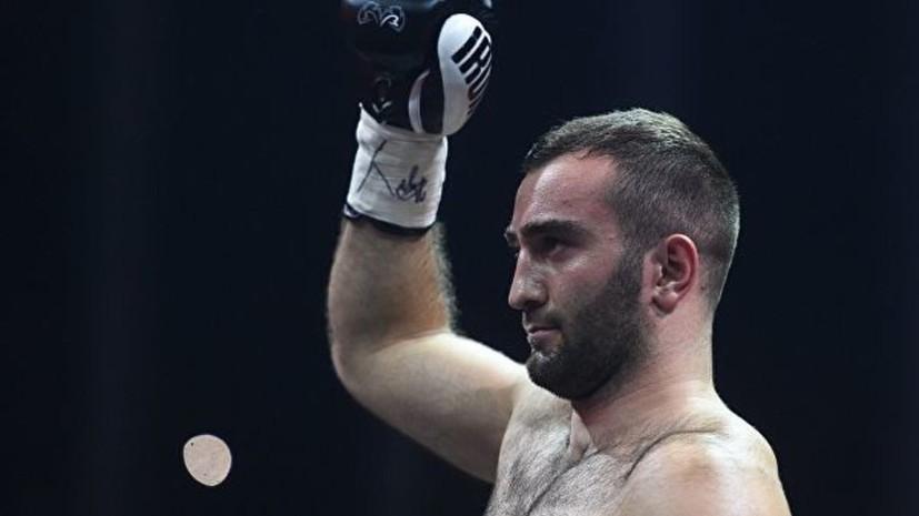 Гассиев извинился за срыв боя с Давейко