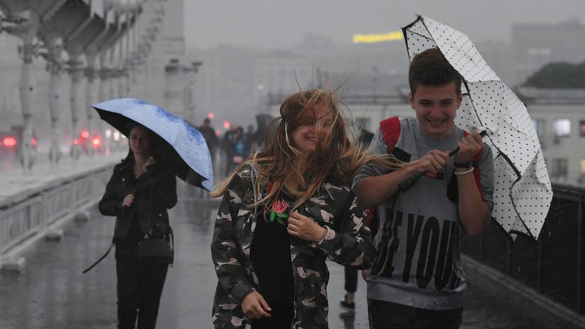 В МЧС предупредили жителей Москвы о дожде с грозой 20 июля