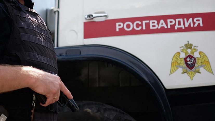 В Росгвардии заявили, что не проводили задержаний участников митинга в Москве