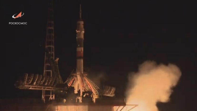 «Союз МС-13» стартовал с Байконура к МКС