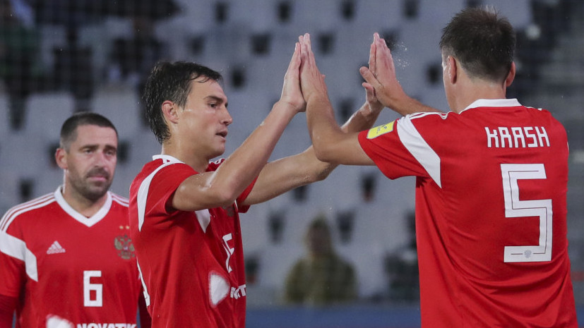 Сборная России победила Эстонию в квалификации на ЧМ по пляжному футболу