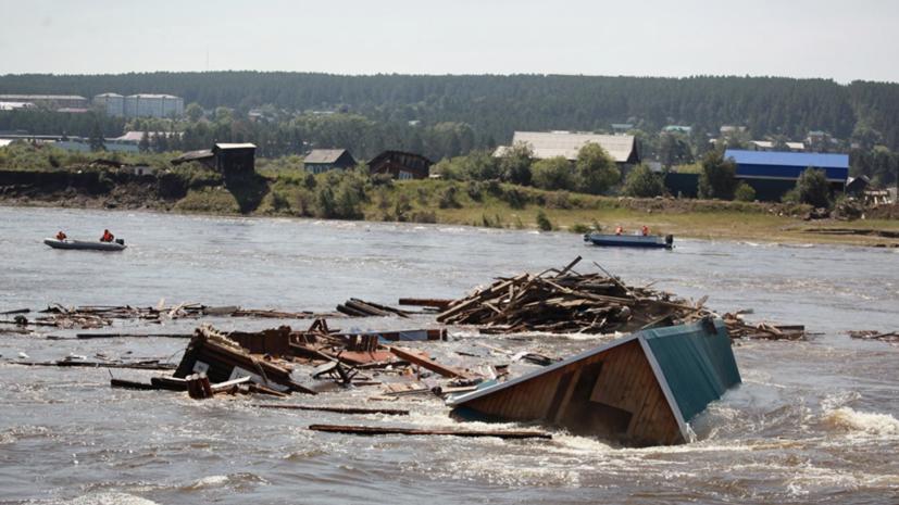 Губернатор Иркутской области рассказал о сроках восстановления дамб