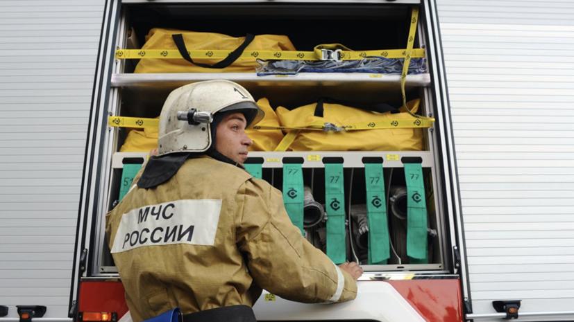 Один человек погиб при пожаре в доме-интернате для престарелых в Брянской области