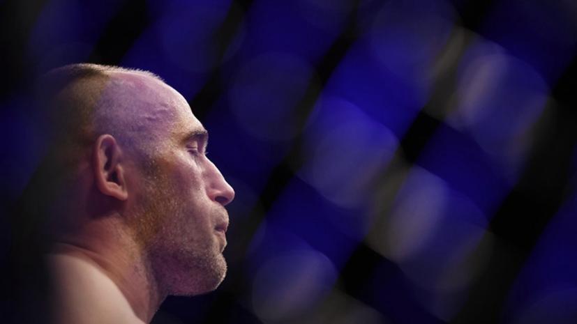 Российский боец UFC Олейник попал в больницу после поединка с Харрисом