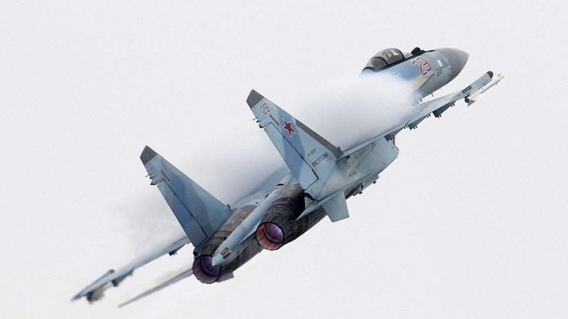 В ЗВО сообщили о поступлении трёх новых Су-35 в авиаполк под Тверью
