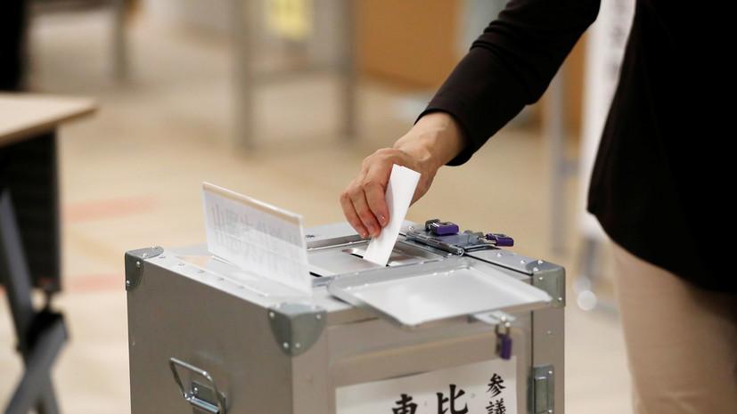 Рекордное число человек досрочно проголосовали на парламентских выборах в Японии