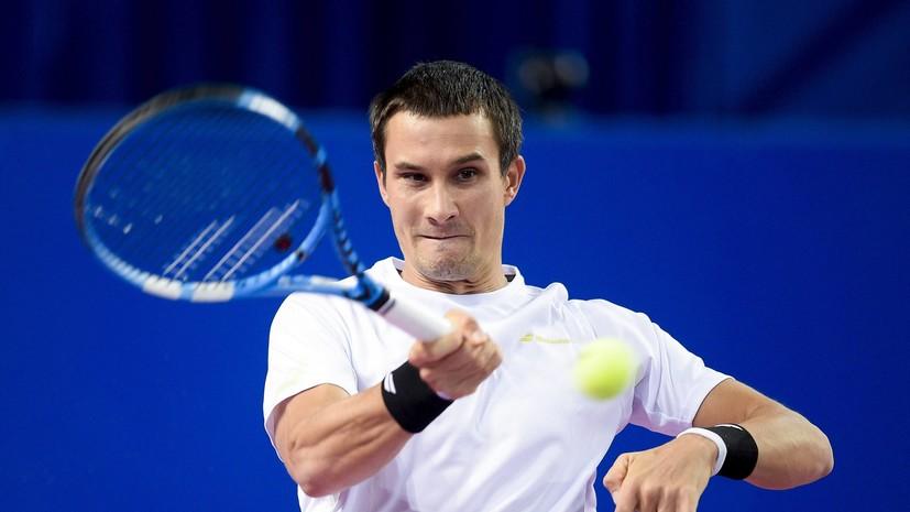 Теннисист Донской выиграл турнир серии «Челленджер» в Нур-Султане