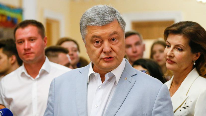 Порошенко на выборах высказался против «российского реванша»