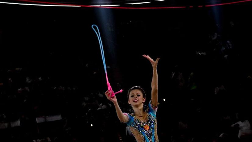 Симакова завоевала золото юниорского ЧМ по художественной гимнастике