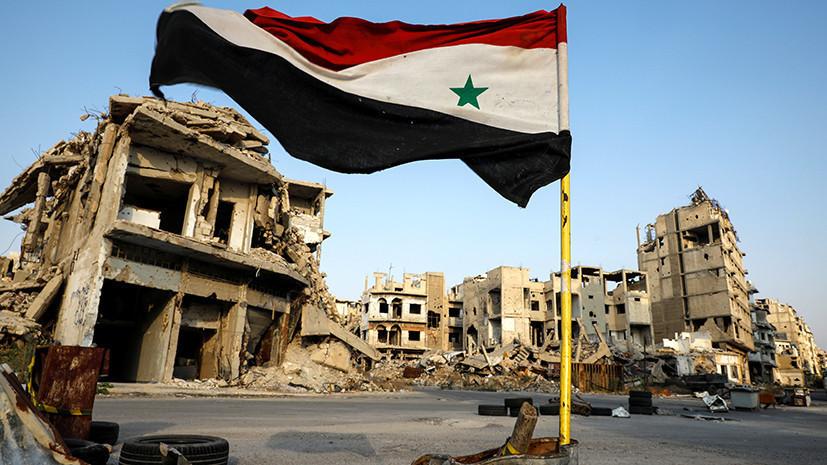 В Сирии при обстреле два человека погибли и трое пострадали