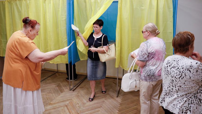 В МВД Украины представили обновлённые данные по явке на выборы