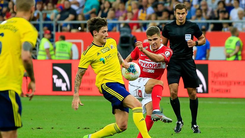 Червиченко считает, что все очки в новом сезоне «Спартак» набрал незаслуженно