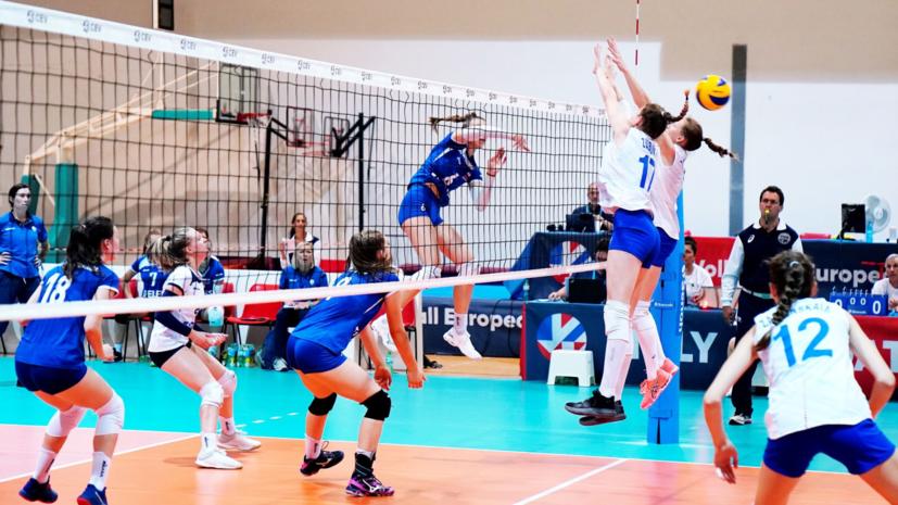 Российские волейболистки завоевали бронзу юниорского ЧЕ