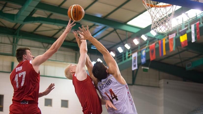 Сборная России по баскетболу не смогла вернуться в элитный дивизион молодёжного ЧЕ