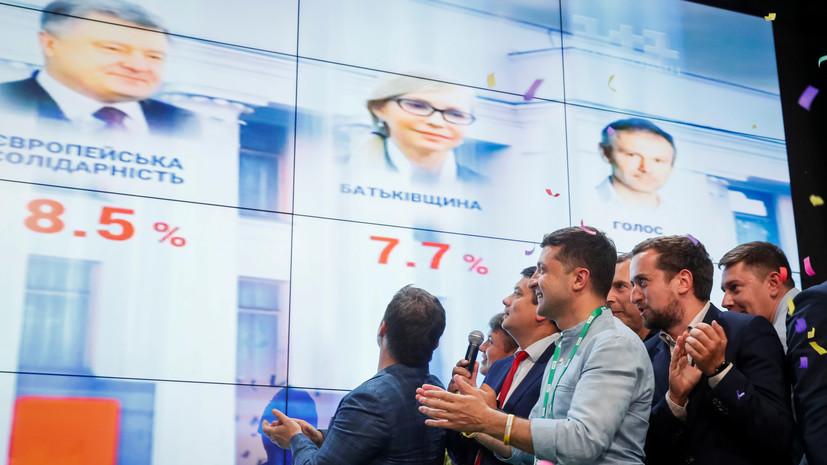 Аналитик назвал предварительные итоги выборов в Раду прогнозируемыми