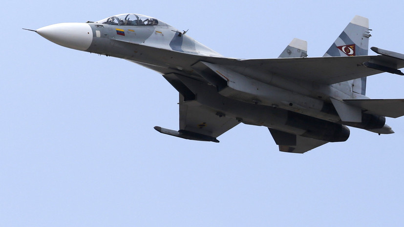В США заявили о преследовании военными Венесуэлы американского самолёта