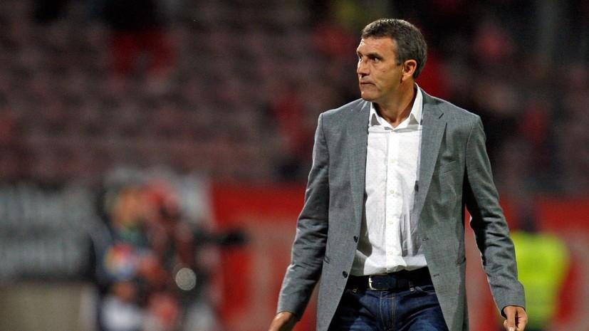 Тренер перенёс сердечный приступ во время матча чемпионата Румынии по футболу