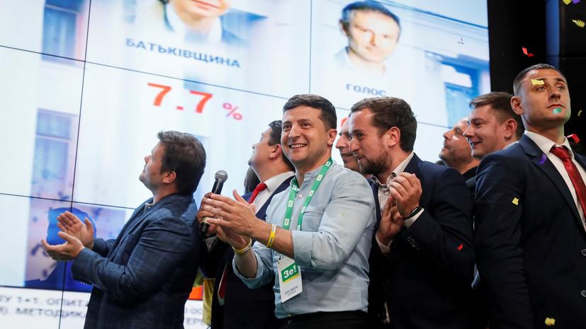 После обработки 70% протоколов: партия Зеленского укрепила лидерство на выборах в Раду