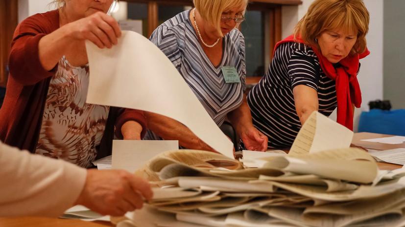 Партия Зеленского лидирует с 42,52% после обработки 62% бюллетеней