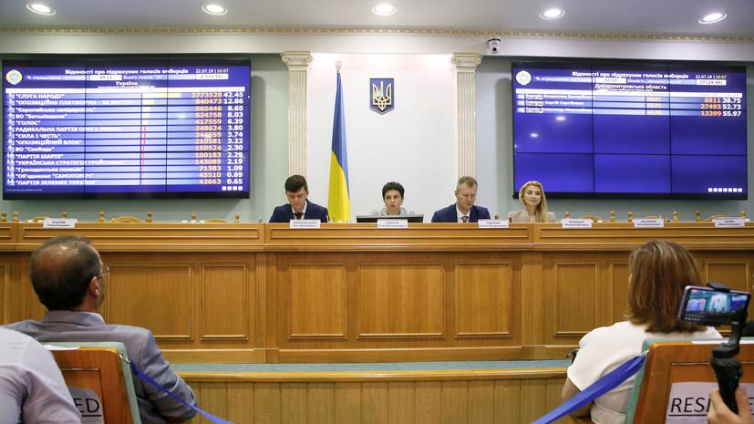 Эксперт оценил предварительные результаты выборов в Раду