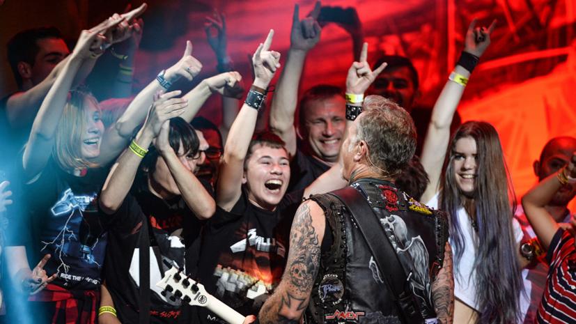 Экс-звукорежиссёр группы «Кино» оценил исполнение Metallica песни «Группа крови»