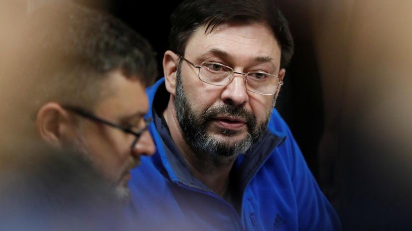 Адвокат Вышинского навестил его в СИЗО