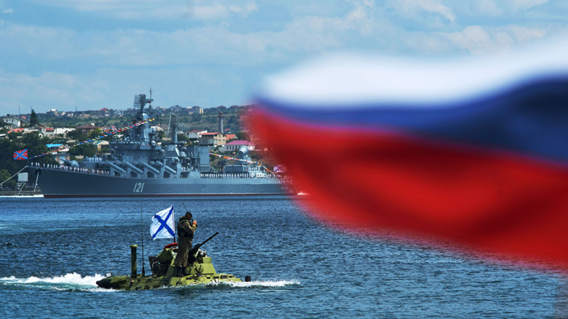 В Севастополе провели первую тренировку парада в честь Дня ВМФ