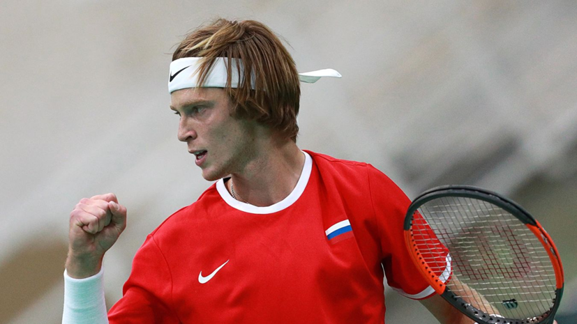 Рублёв обыграл Гарина на турнире АТР в Гамбурге
