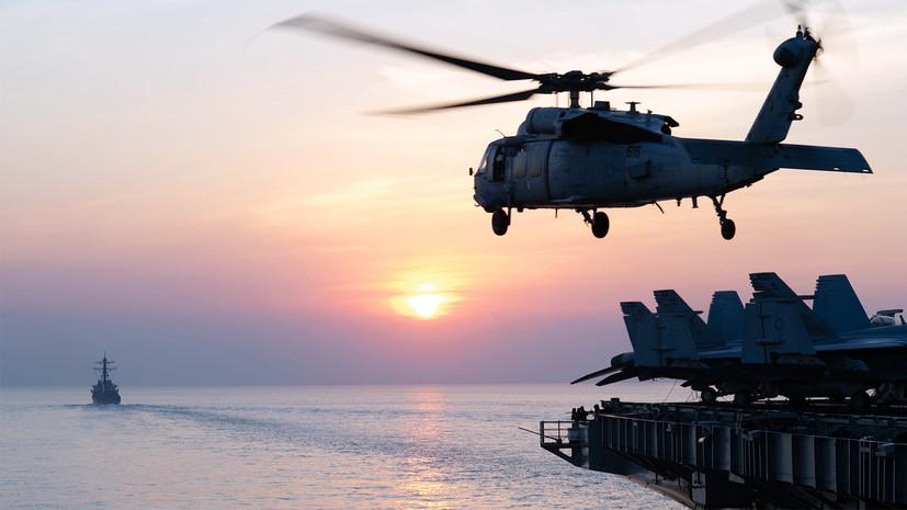 В Госдуме оценили идею США по патрулированию Ормузского пролива