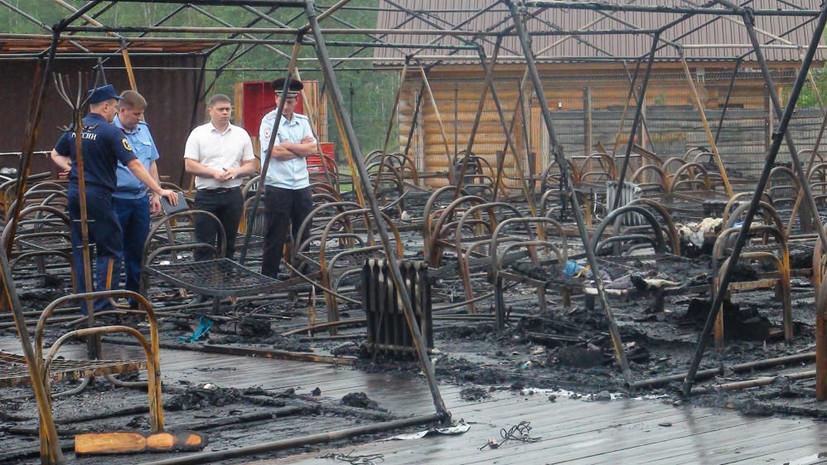 Десятилетний мальчик помогал спасать детей при пожаре под Хабаровском