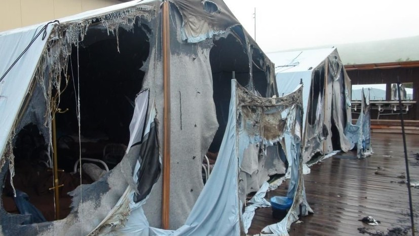 Число пострадавших при пожаре в лагере под Хабаровском возросло до 12