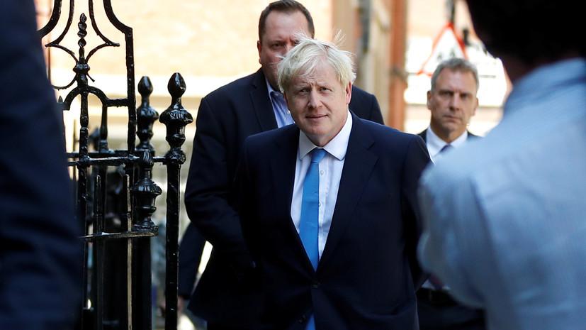 Глава лейбористов прокомментировал избрание Джонсона лидером тори