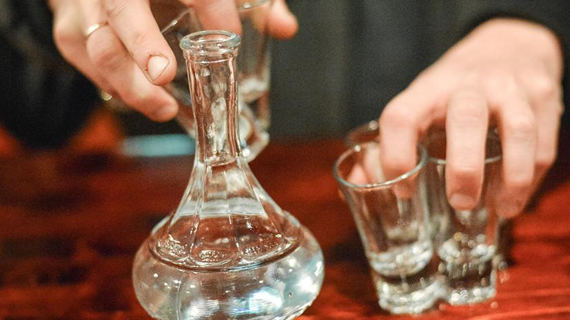 Исследование: импортная водка крепче российской