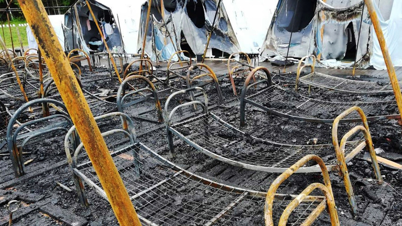 «Травмы, несовместимые с жизнью»: число погибших при пожаре в детском лагере в Хабаровском крае возросло до четырёх