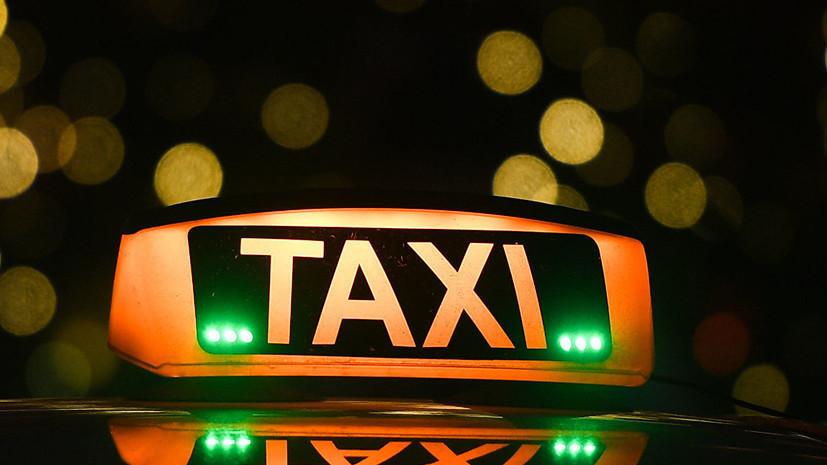 В Петербурге завели дело по факту ДТП с участием такси