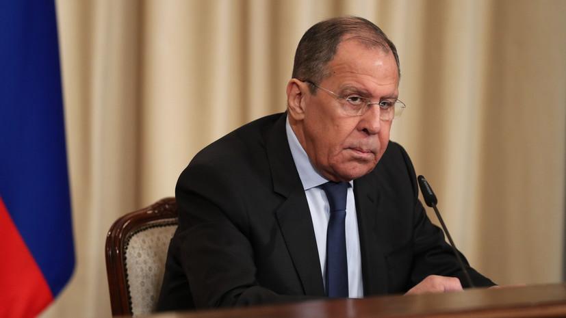 Лавров призвал ОБСЕ обеспечить защиту русскоязычных граждан на Украине