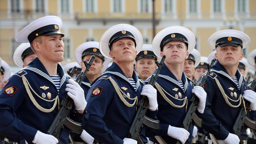 Стала известна программа мероприятий на Дворцовой площади в честь Дня ВМФ