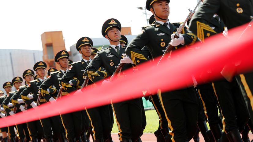В КНР оценили численность армии страны после сокращения