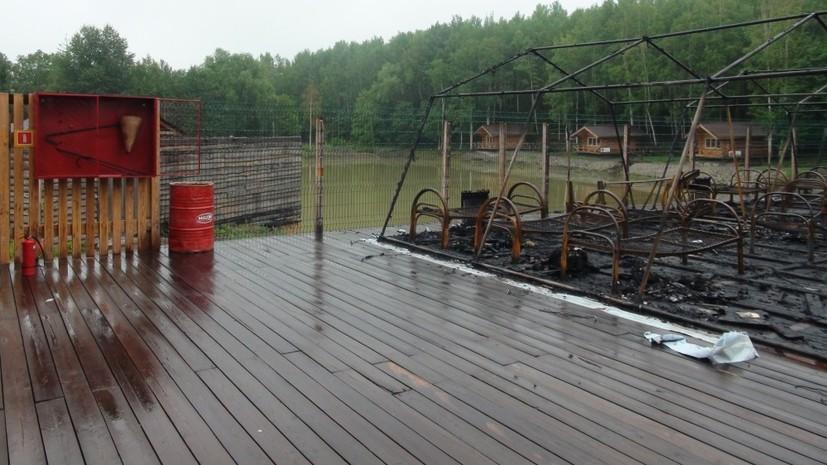 В Хабаровском крае задержан глава отдела МЧС по делу о пожаре в лагере