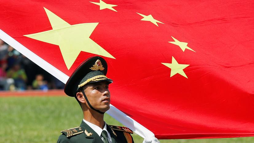 Китай планирует увеличить военные расходы