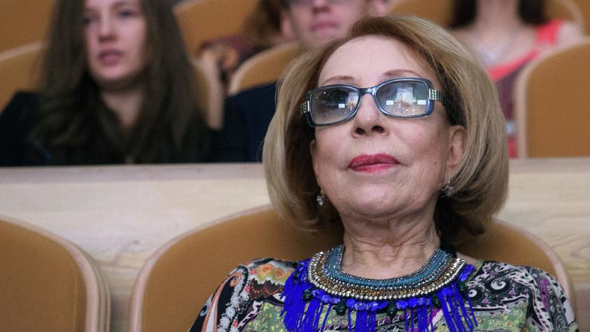 Директор «Ленкома» рассказал об улучшении состояния Инны Чуриковой