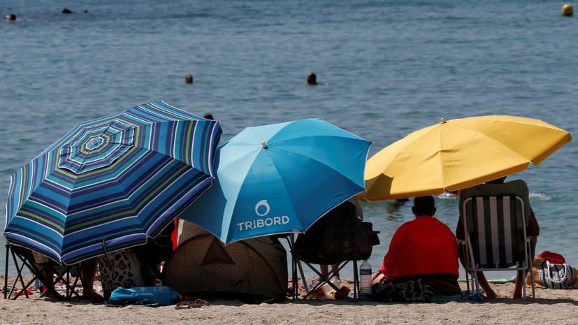 В 20 департаментах Франции объявлен красный уровень метеоопасности