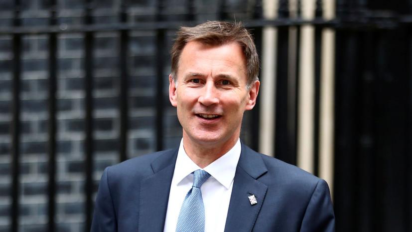 Глава МИД Британии подал в отставку