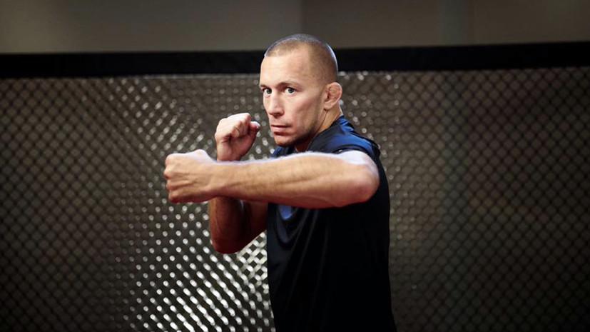 Сен-Пьер готов возобновить карьеру в MMA только ради боя с Нурмагомедовым