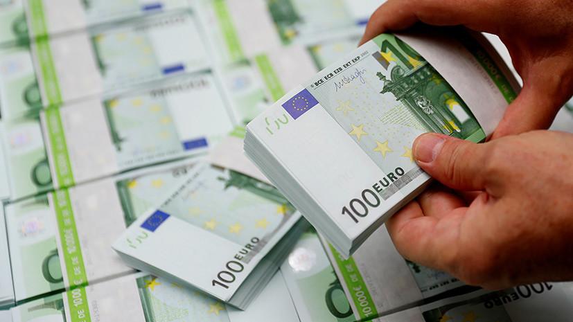 Валютная планка: курс евро впервые с марта 2018 года опустился ниже 70 рублей